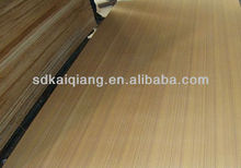 bruma teak plywood ,for hotel decoration board ,5.2mm