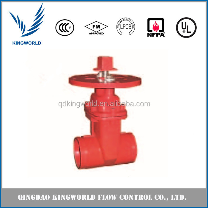 Soft Sealing Inside Screw Nonrising Stem Type Gate Valve