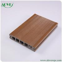 New design pe wpc wood plastic composite decking flooring board ce Germany standard ISO9001 sound insulation recyclable material