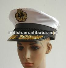 ADMIRAL NAVY COMMANDER OFFICER sailor captain hat MH-1051