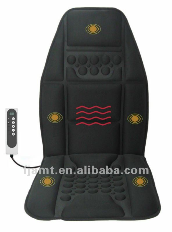 vibration heated car massage cushion