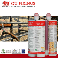 Structural connections adhesive anchoring system epoxy resin based concrete anchor