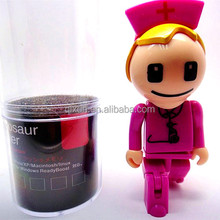 nurse shape usb flash drive,usb flash 2.0 wholesale 128mb usb flash memory