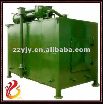 Charcoal carbonization furnace with hoisting type