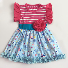Alice in Wonderland Baby Dress New Style Fashion 2 Year Old Girl Dress Flower Girl Dress