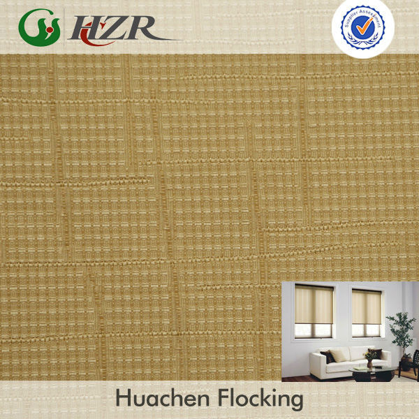 UV ray resistant stiffen fabric for home shade roll blind fabric