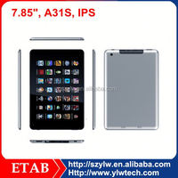 Hot selling A31S Quad core led display android tablet