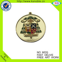 Buy Existing model Promotion metal sport gold medal with ribbons ...