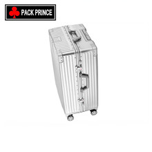 Fashion women and men carry-ons aluminum suitcase for boy travel bag suitcase/ case/lu