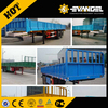 cheap price 2,3, 4 axle tractor hydraulic cylinder side or rear end tipping dump truck semi trailer for sale