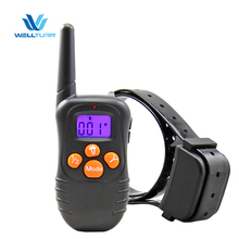 Pet Dog Barking Stop Collars Dog Voice Controlling Collar Electric Device Dog Training
