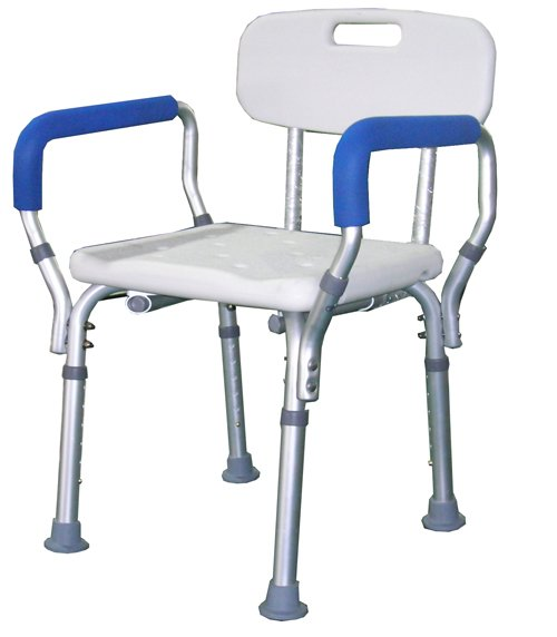 Equipment for disabled shower back plastic chairs with arms high chair