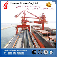 Continuous ship loader from yard with 2000t