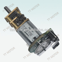 GM12-N20VA dc gear motor with encoder