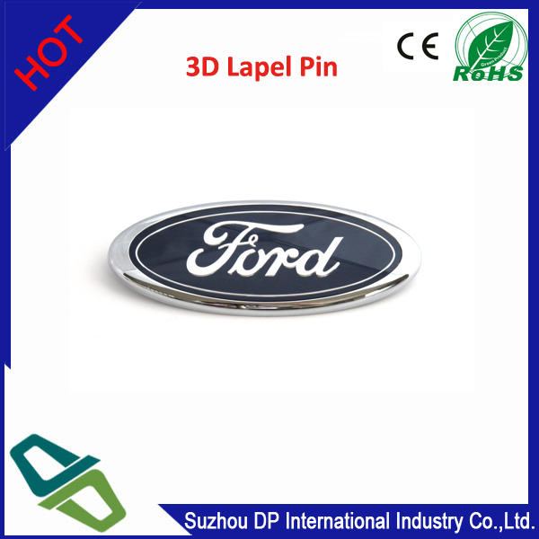 FORD SELF ADHESIVE STICK ON 3D BADGE pin