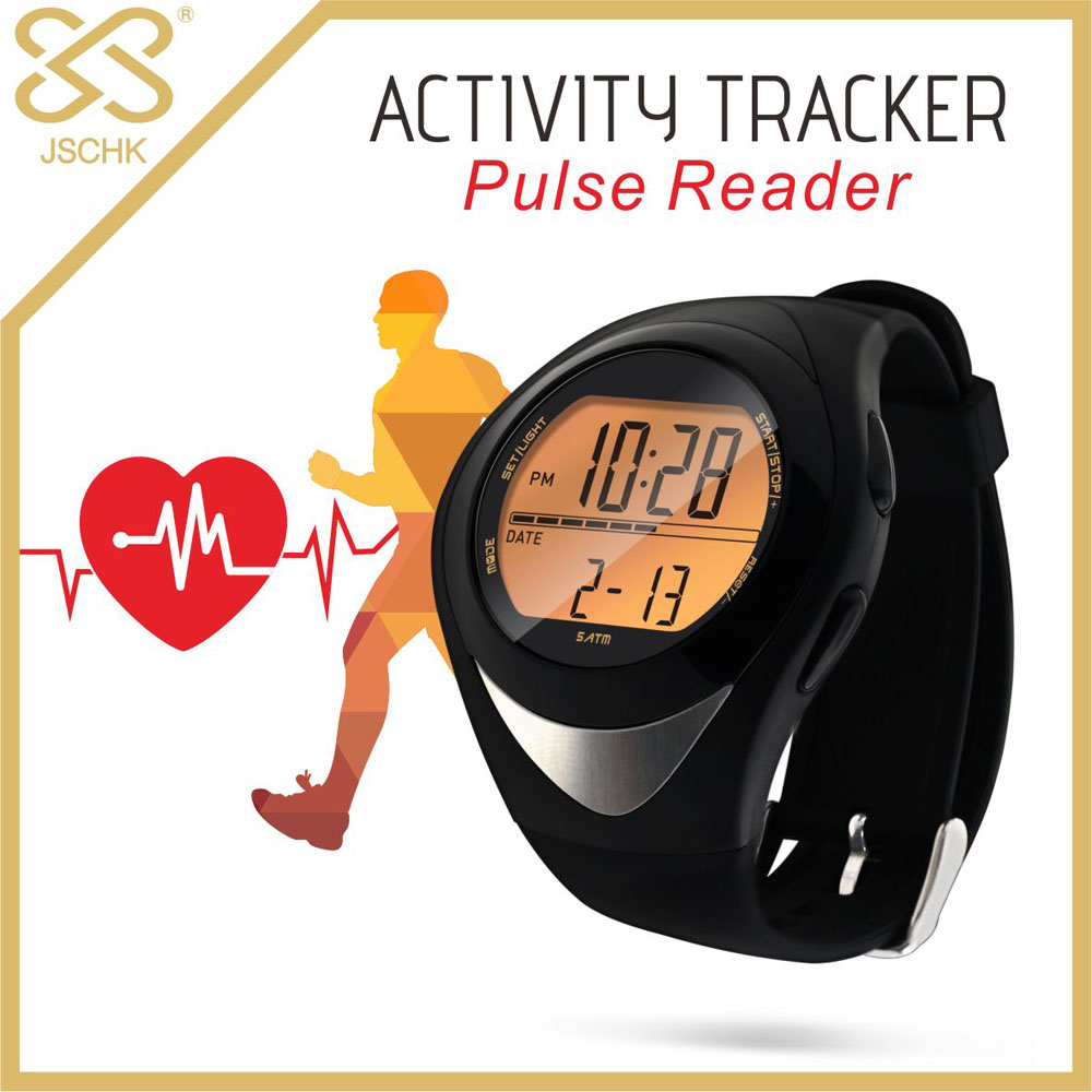 Activity Tracker with pulse reader