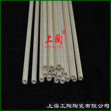Pure Alumina High Temperature Ceramic Pipe In Industrial Tube Furnace or Thermocouple Protection