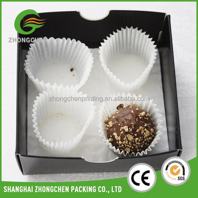 Custom Printed fancy paper cardboard empty diy homemade chocolate packaging gift box india