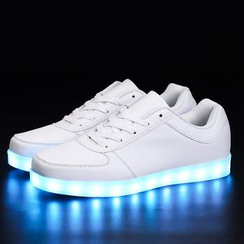 LED luminous shoes unisex led sneakers
