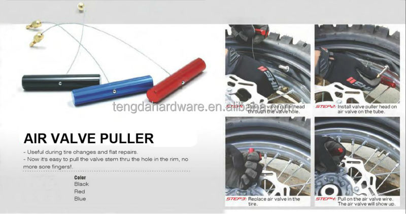 Motorcycle special tools AIR VALVE PULLER