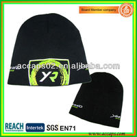 Screen printed knit winter hats BN-2605