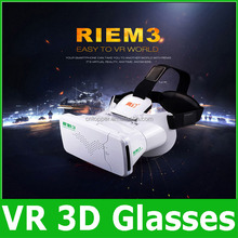 RITECH III Head Mount 360 Degree VR virtual reality goggles 3D Glasses Google Cardboard for 3.5-6inch smart phone