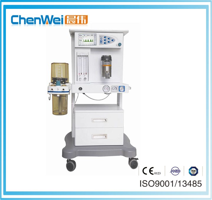Medical anesthesia machines with ventilation parts