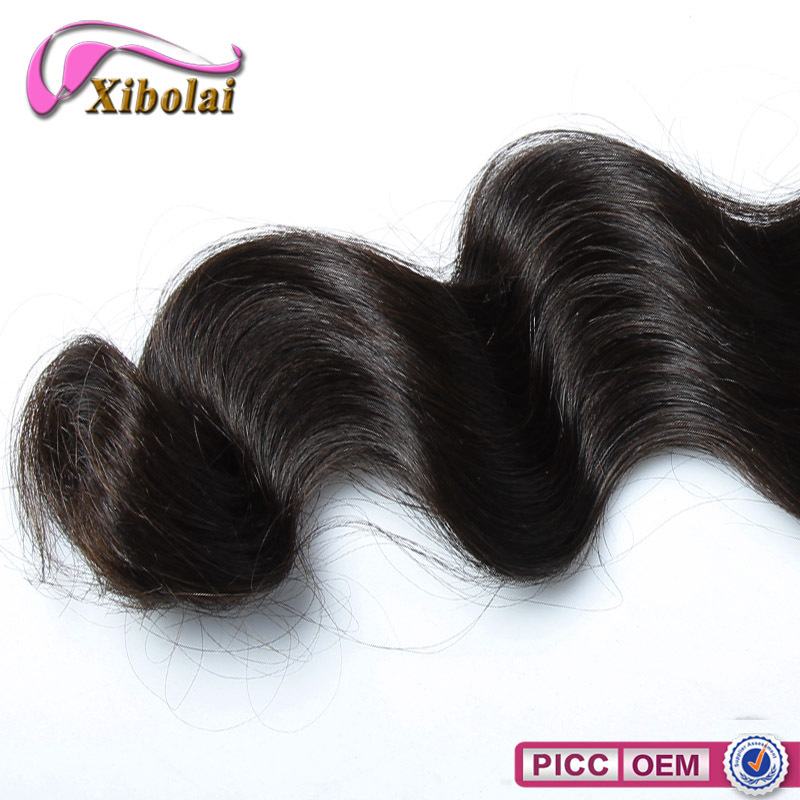 Large Stock Brazilian Loose Wave Hair Bundles,Unprocessed Brazilian Hair 6A Loose Wave