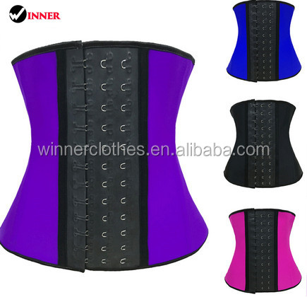 Neoprene hook waist trainer for corset slimming tummy corset underwear