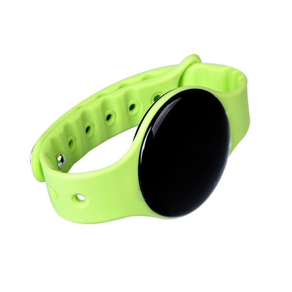 2016 Fashion gift silicone smart bracelet watch with pedometer function