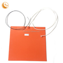 Good quality electric heating mat 220v silicone heater for fuel line