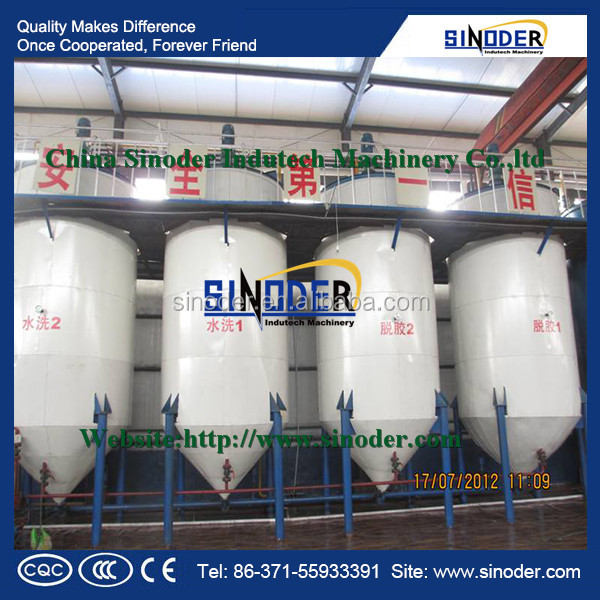 Offer edible oil equipment rapeseed oil refinery ,cooking oil machine ,soybean oil refinery equipment with 10-50TPD