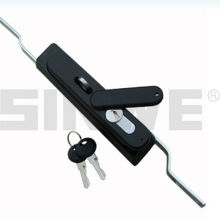 Black zinc multi 3 points cabinet door lock