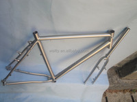 Ricing 700 cyclocross bike road frameset with inboard disc brake