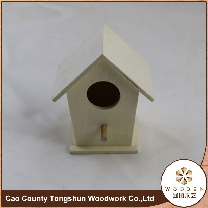 Excellent Quality New Handmade Wood Carved Bird Houses For Christmas