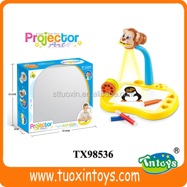kids learning desk, projector desk learning easel for kid