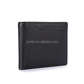 Custom Genuine Leather Brand Wallet for Men Bifold Short Men Wallet