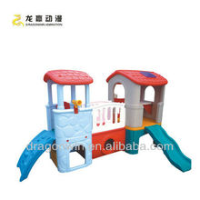 popualr beautiful cheap wooden kids indoor playhouse for soft play zone