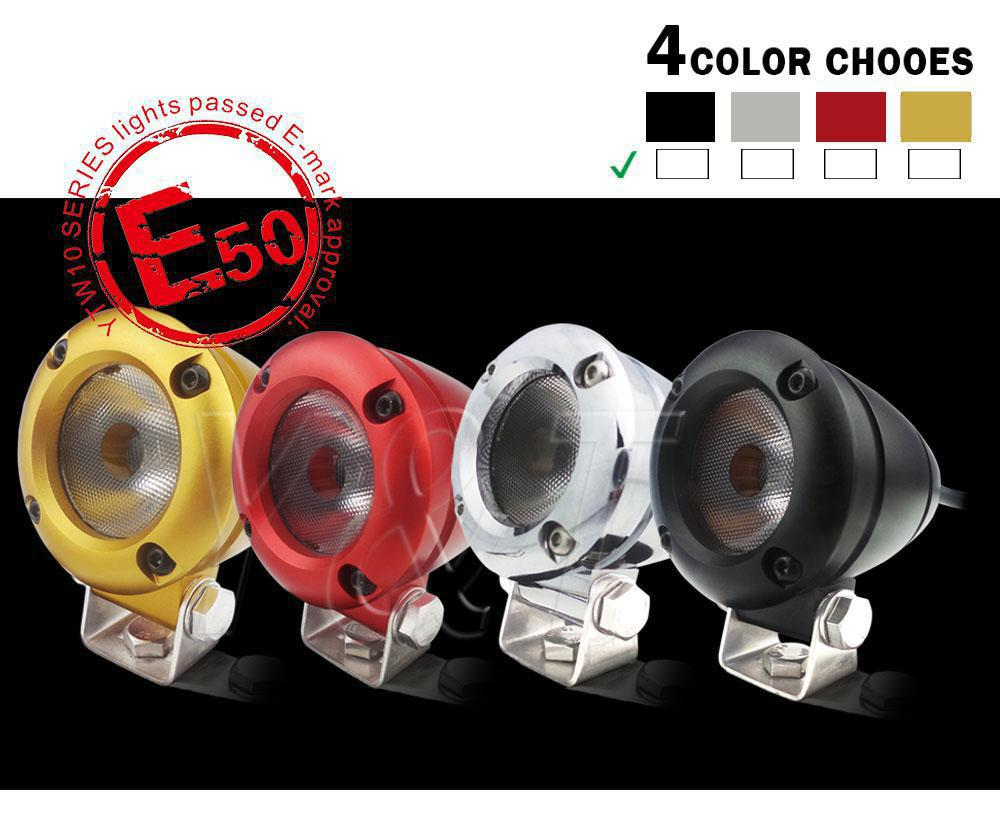 Disco Light Emergency Strobe Lights 2inch Led Headlamp 10w With ...