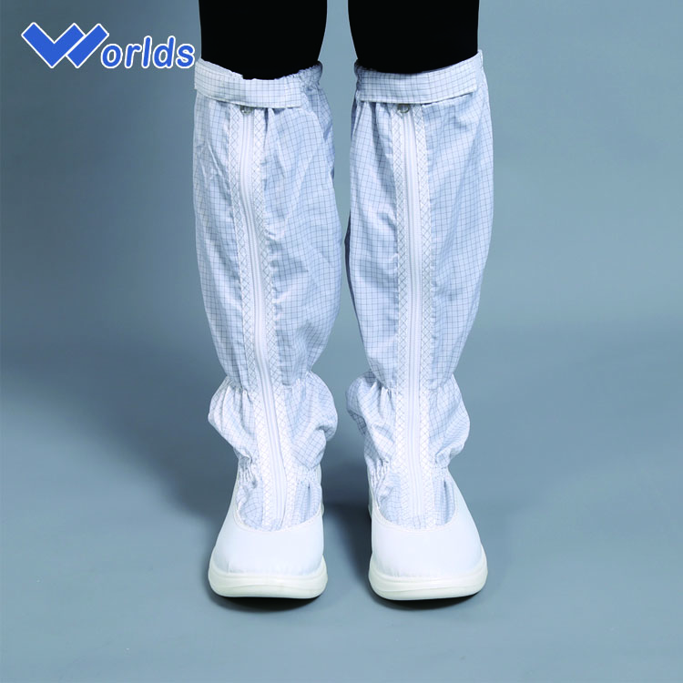 cleanroom PU outsole antistatic ESD work safety boots men or women
