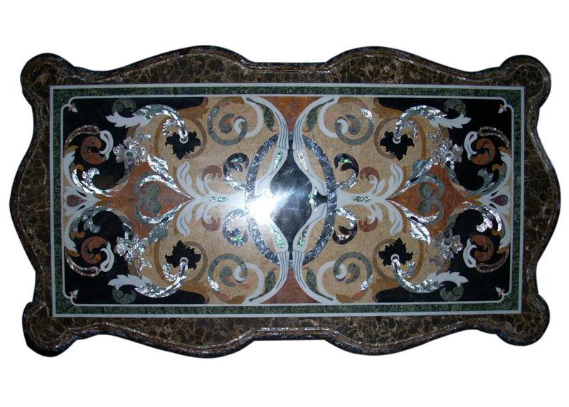 구부 런진 다리의 직사각형 테이블-기타 엔틱 가구 -상품 ID ...