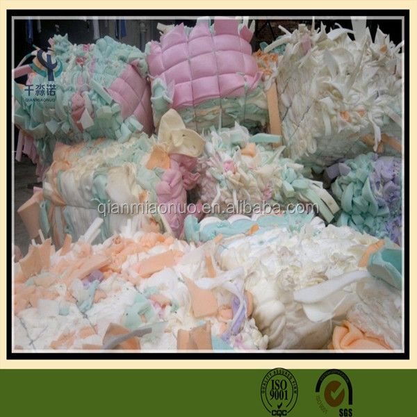 The Second Use Sponge Foam Scrap/PU foam scrap factory