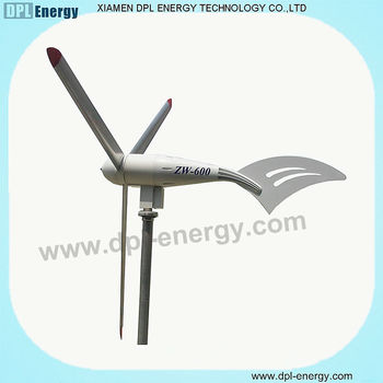 IE FCC CE DPL 600W small wind turbine blade 1mw