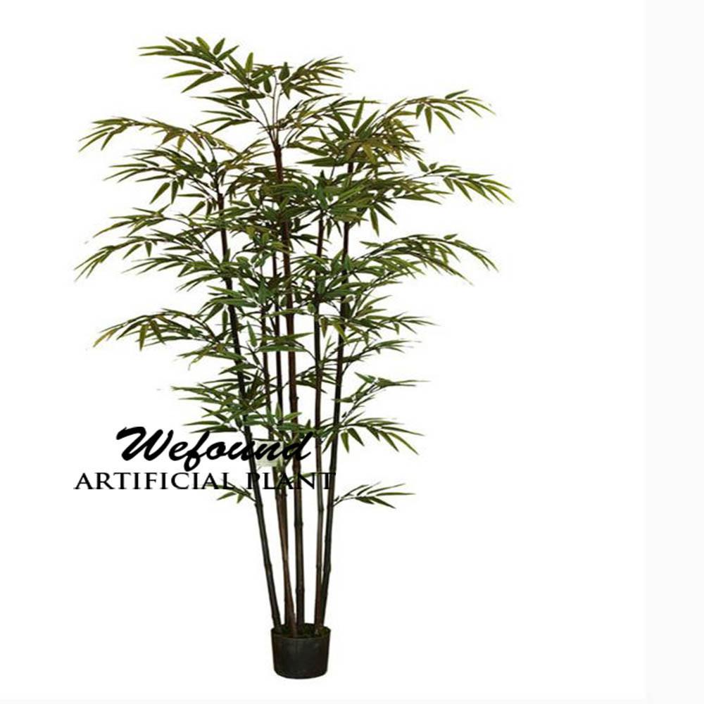 Wf07302 di bamb giapponese con stelo nero artificiale for Bambu in vaso prezzo
