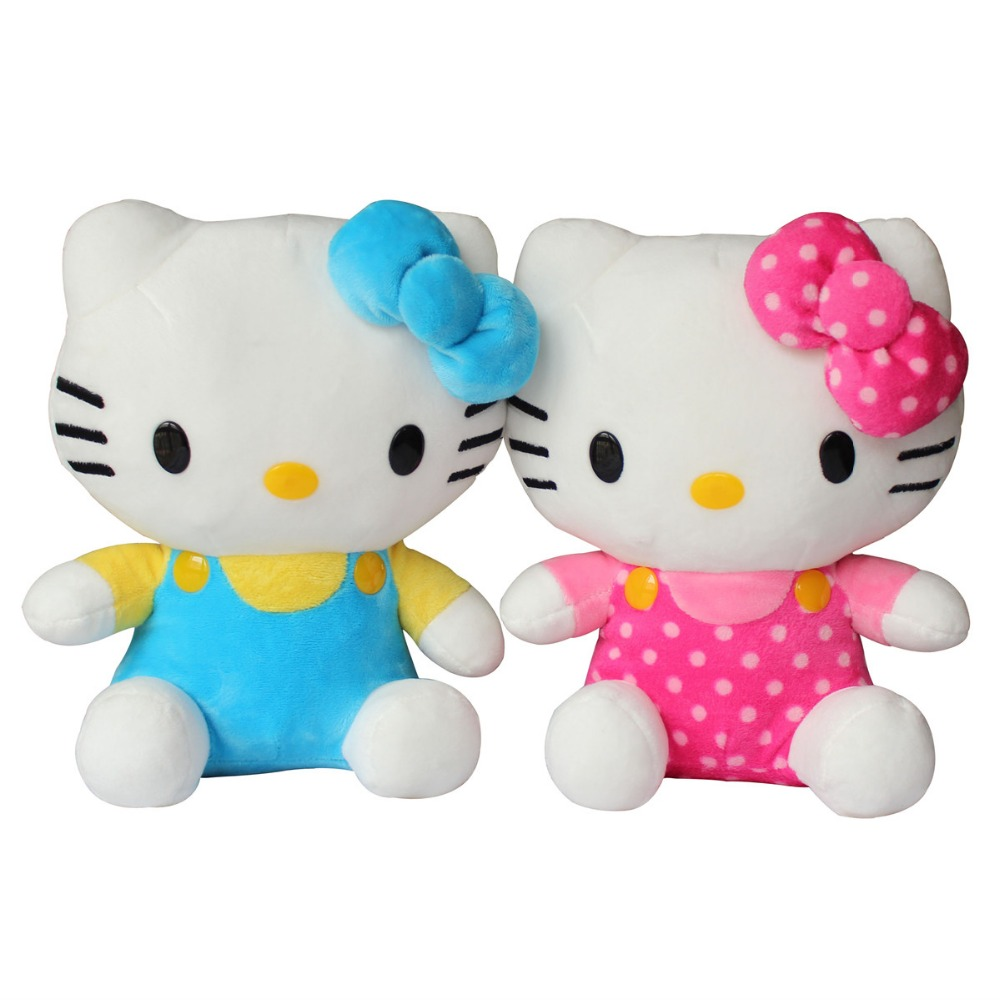 small lovely plush hello kitty customized stuffed toys