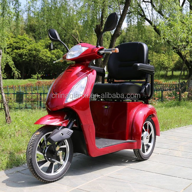 CE approved ST095 three wheel motorcycle for the disabled