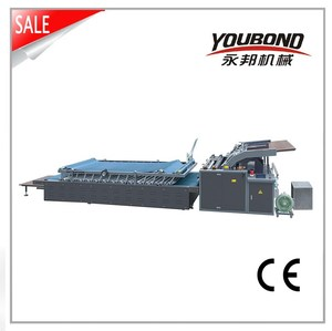 Semi-Automatic Flute Laminating Machine for Cardboard to Corrugated Paper
