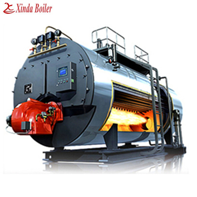 Natural Gas 2Ton Boiler, Gas 2000Kg Steam Boiler Factory