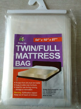 China factory High quality PE mattress bag good price