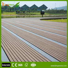 2015 cheap composite decking floor tiles, rubber laminate wpc wood flooring